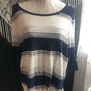 Maurices Lightweight Striped Sweater